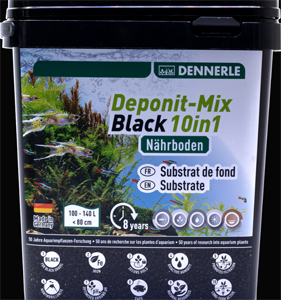 Dennerle Deponit black 10 in 1   4,8 kg