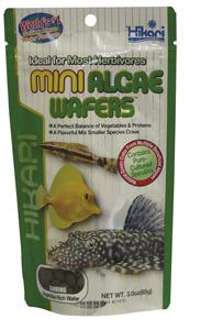Hikari Mini Algae Wafers, 85 gram