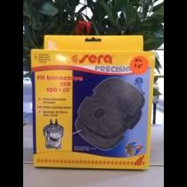 Sera Filterspons zwart 130