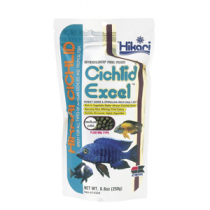 Hikari Cichlid Excel medium pellet,  250 gram