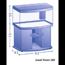 Juwel vision 180 Led set wit, aanbiedingsset